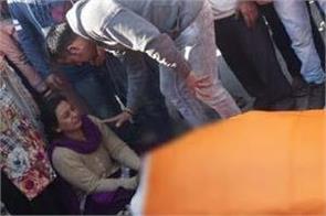 man murder in jalandhar partap bhagh family protest