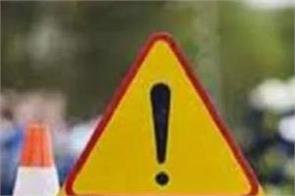 road accident siblings died in bijnor