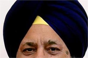 bhai longowal to be elected unopposed president