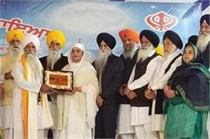 bibi jagir kaur honored the religious organizations serving the langars