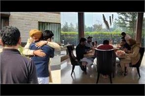 kapil sharma meets navjot singh sidhu in amritsar