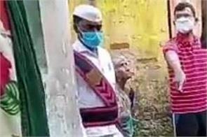 andhra pradesh woman street garbage municipal employees gift