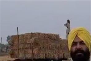 straw  environment  farmer  harcharan singh