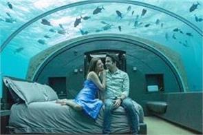 kajal aggarwal honeymoon room pics