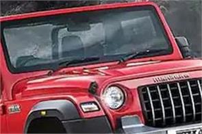 mahindra thar entry level variants removed from website
