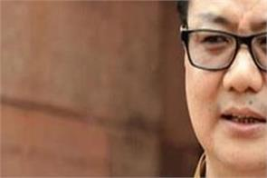 kiren rijiju  covid 19  vaccine  players  priority