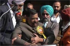 congress mla darshan lal singh s ill health