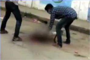 tamil nadu man s head cut off in broad daylight thrown in front of church