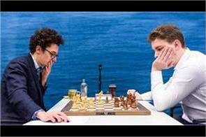 speed chess world no 2 karuana defeated by john duda