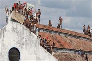 inmates in sri lanka try to break the prison  one dies