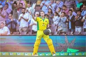 smith stunning third century against india  see record