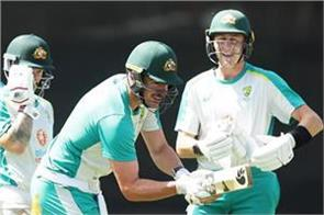 icc shares picture of australian players
