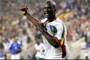 senegal midfielder diop dies