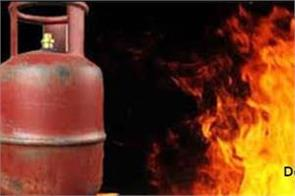 cylinder  fire  5 injured