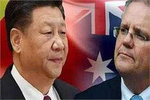 australia scolds china apologizes for false tweets
