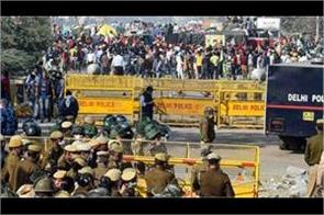 delhi police registers fir in including riot in singhu border case