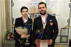 nepomniachi and goryachkina won the russian chess championship