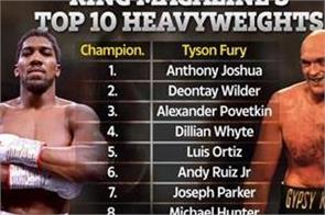 ring magazine released a list of 10 heavyweight boxers