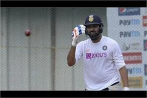 aus v ind  all eyes will be on rohit sharma  s return