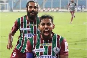 isl 2020 atk mohun bagan reached the top by defeating odisha