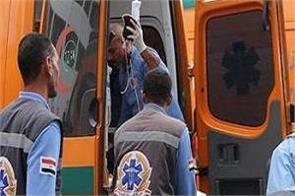 dead traffic accident in upper egypt sohag