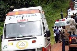bus crash in western cameroon leaves 60 dead