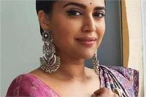 swara bhasker mocked bjp by sharing a picture of a farmer