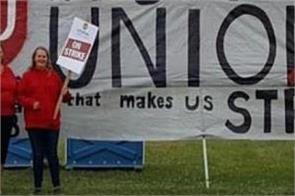 canada unifor supports india farmer protest