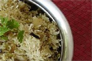 cooking tips here  s how to make mint rice in your home kitchen