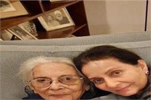 capt amarinder singh mother in law satinder kaur kahlon death