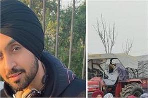 farmers protest punjabi singer diljit dosanjh