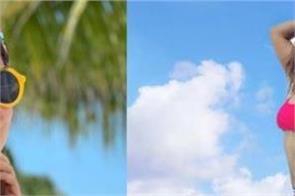hina khan greets maldives with hot look shared photos