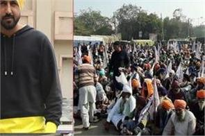 farmers protest   tikri border gippy grewal
