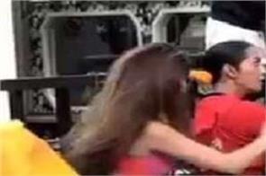 bigg boss 14  rakhi sawant hurls abuses at nikki tamboli