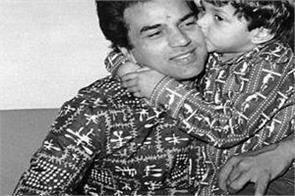 bobby deol wish papa dharmendra happy birthday