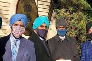sikhs of america petition with the indian embassy