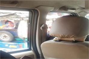 bjp president jp nadda  s convoy was passing bricks hurled