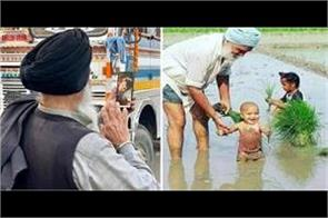 ammy virk shared heart touching pics of farmers