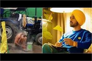 diljit dosanjh shared emotional pic of old farmer