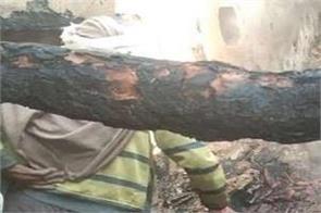home fire mother children death