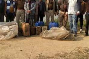 excise department large action recovered alcohol