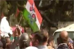 bjp sunil mandal kolkata mp protest