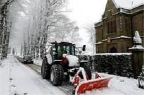 britain  heavy snowfall
