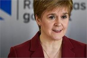 scotland  s first minister nicola sturgeon warns scots