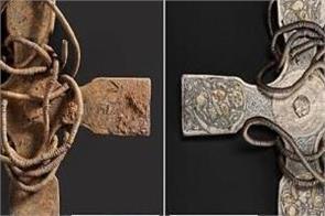 anglo saxon cross found in scotland