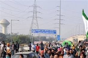 delhi ghaziabad border farmers protest farm laws