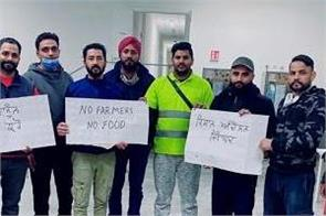 italy punjabi youth farmers protest