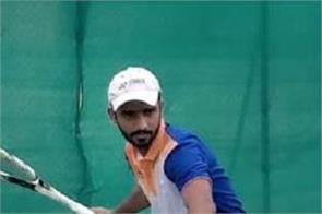 soft tennis  rohit dhiman  tennis court  return