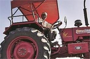 kisan andolan  tractor  agricultural implements  business down