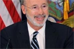 usa pennsylvanian governor corona positive